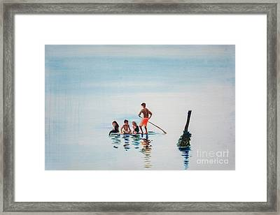 The Last Post Framed Print