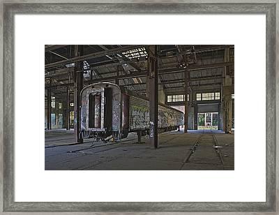 The Last Pullman Car Framed Print by Robert Myers