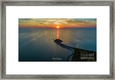 The Last Ray Framed Print