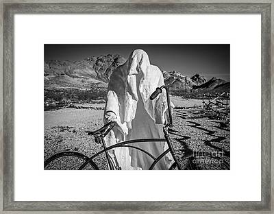 The Last Ride Framed Print by Charles Dobbs