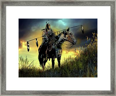 The Last Ride Framed Print