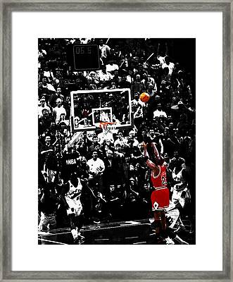 The Last Shot 23 Framed Print