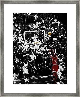 The Last Shot 23a Framed Print
