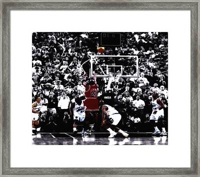 The Last Shot 5 Framed Print