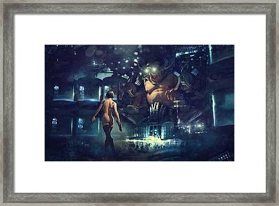 The Last Smile Framed Print by Guillem H Pongiluppi