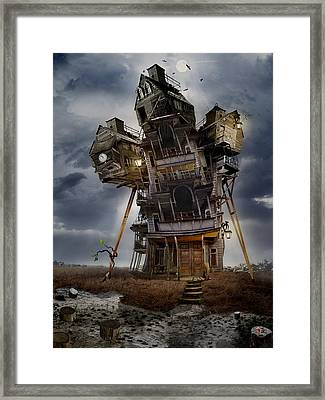 The Last Sprout Framed Print by Alexander Kruglov