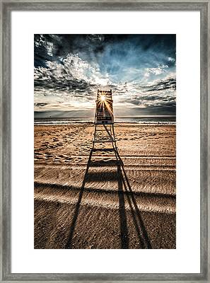 The Last Stand Framed Print by Jim Moore