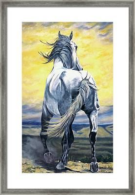 The Last Stand Framed Print by Melody Perez