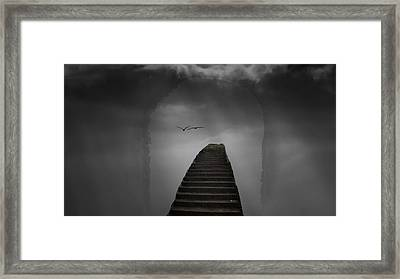 The Last Steps Framed Print