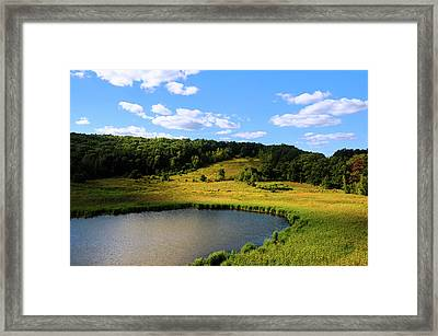 The Last Day Of Summer Framed Print by Krasimir Tolev