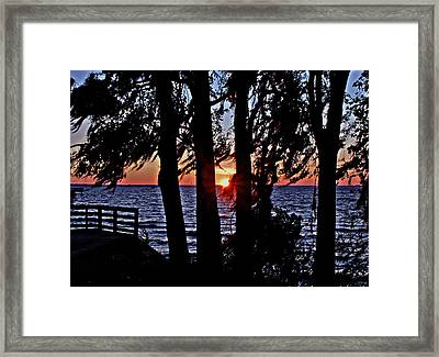 The Last Sun Framed Print