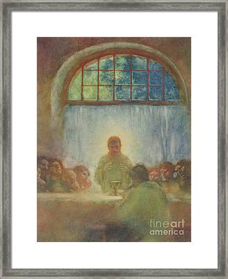 The Last Supper, 1897 Framed Print
