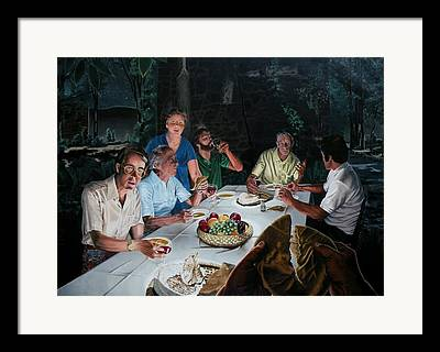 New Testament Paintings Framed Prints