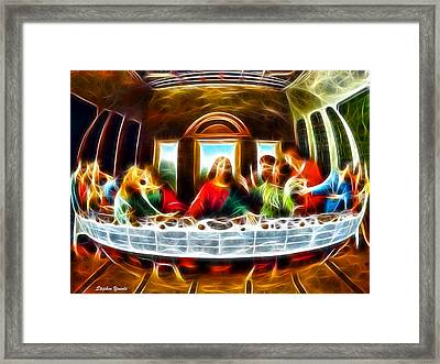 The Last Supper Framed Print by Stephen Younts