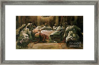 The Last Supper Framed Print by Tissot