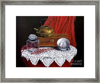 The Last Tea Bag Framed Print