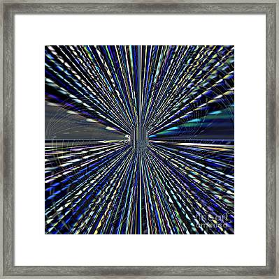 The Last Thing In Mind Framed Print by Fania Simon