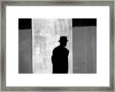 The Last Time I Saw Joe Framed Print by Steven Huszar