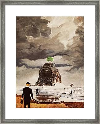 The Last Tree Framed Print