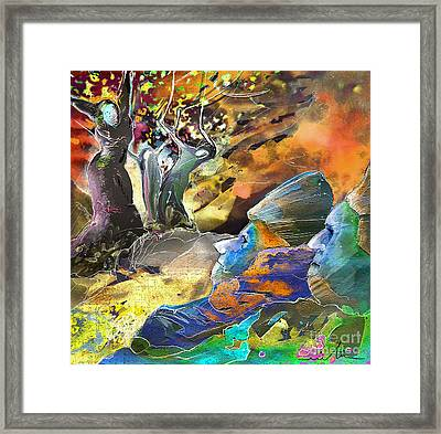 The Last Trial Framed Print by Miki De Goodaboom