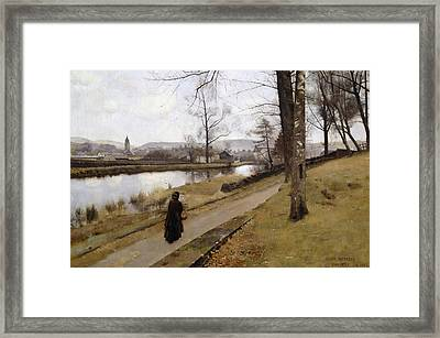 The Last Turning Framed Print by James Paterson