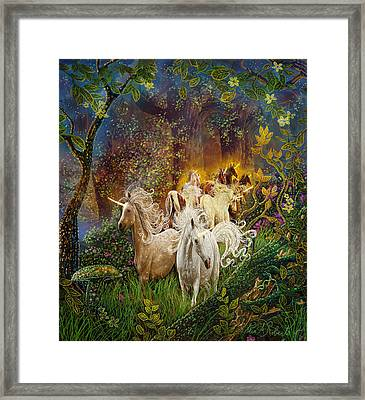 The Last Unicorns Framed Print by Steve Roberts
