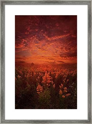 The Last Untold Story Framed Print