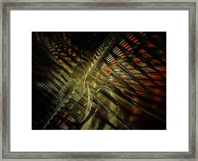 Framed Print featuring the digital art The Last Vestiges Of Winter by NirvanaBlues