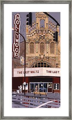 The Last Waltz Framed Print by Mike Hill