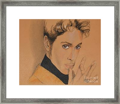 The Late Prince Rogers Nelson Framed Print