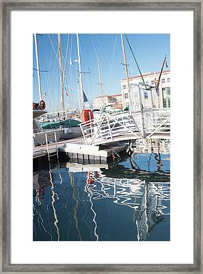 The Laughing Bridge Framed Print