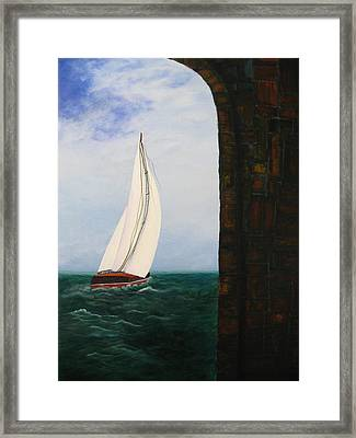 The Laurenda Framed Print by Betty Reineke