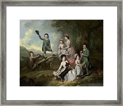 The Lavie Children Framed Print