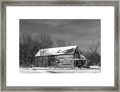 The Layton Country Store Framed Print by Nicki McManus
