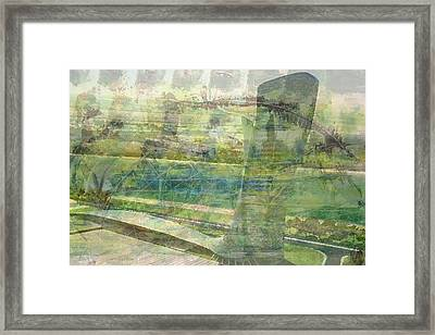 'the Leaning Tower 3' Framed Print