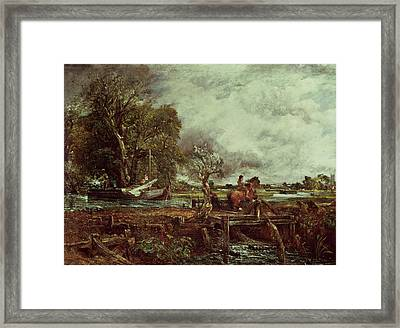 The Leaping Horse Framed Print by John Constable