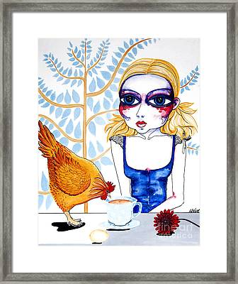 The Least I Could Do Framed Print by Leanne Wilkes