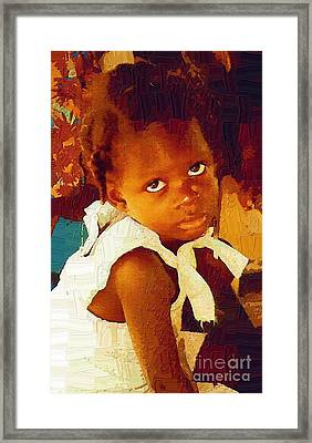 The Least Of These Framed Print by Diane E Berry