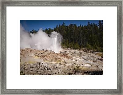The Ledge Framed Print by Chad Davis