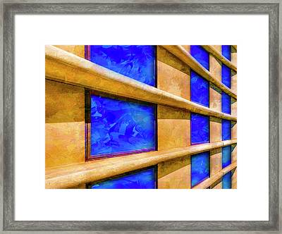The Ledge Framed Print by Paul Wear