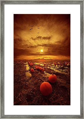 The Left Overs Framed Print