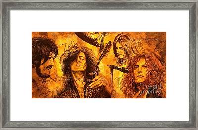 The Legend Framed Print by Igor Postash