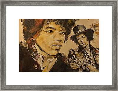 The Legend Framed Print
