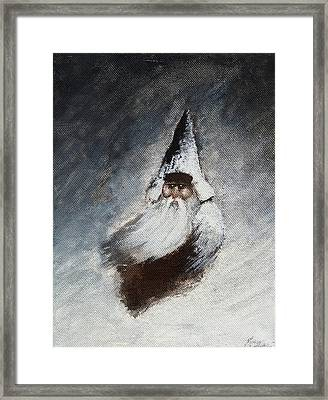 The Legend Of Siberian Gnome Framed Print