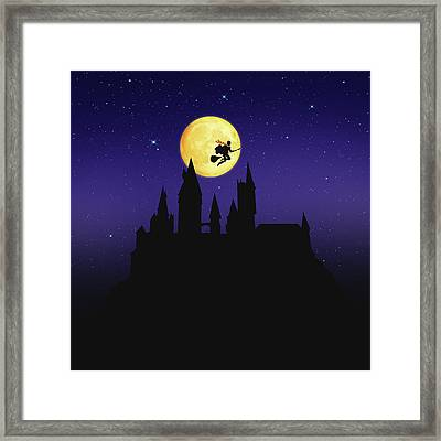The Legend Of Witch Framed Print