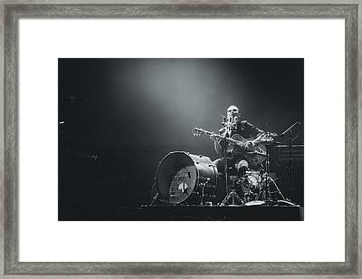 The Legendary Tigerman Playing Live Framed Print by Marco Oliveira