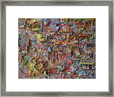 The Lego City Framed Print by Dylan Chambers