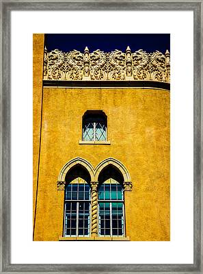 The Lensic Performing Arts Center Framed Print