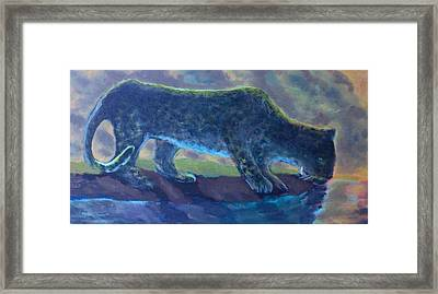 The Leopard Framed Print