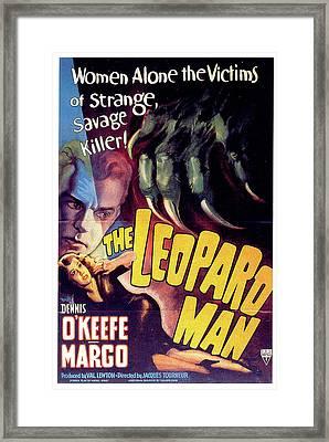 The Leopard Man Framed Print